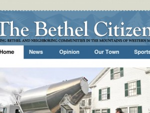 The Bethel Citizen theme design
