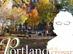 Portland at a Crossroads series with animated, interactive intro
