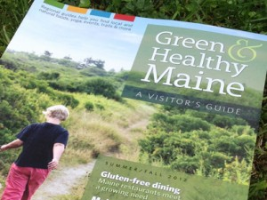 Green & Healthy Maine branding, magazine, photos