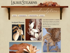 Laurie Stearns Woodworking website