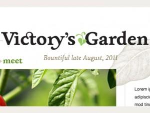 Victory's Garden logo